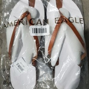 American Eagle Size 8 Flip Flops New